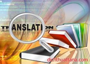 Dịch thuật tiếng Anh giá rẻ