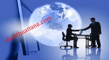 Dịch thuật website giá rẻ