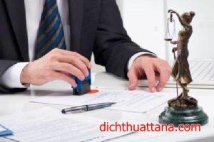 Dịch thuật công chứng giá rẻ