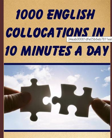 Giáo trình 1000 English Collocations in 10 Minutes a Day