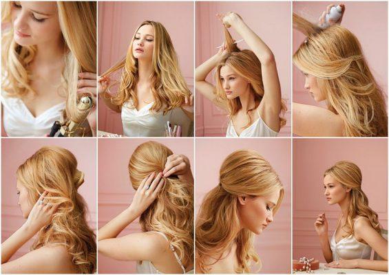Các kiểu tóc nữ duyên dáng, xinh đẹp