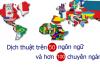 Dịch thuật Tân Việt đã tốt, Dịch thuật Tân Á còn tốt hơn